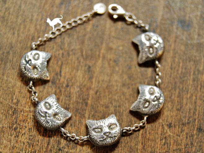 Cat Face Bracelet