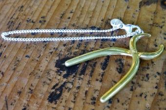 真鍮ヤットコのキーチェーン