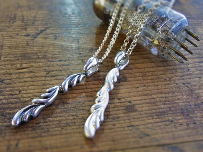Angel Wings Pendant top