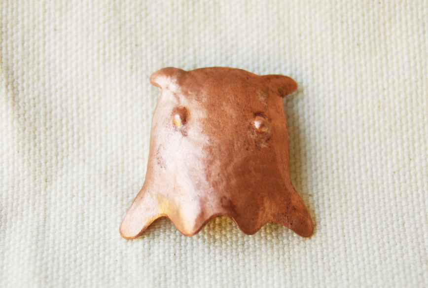 ブローチ・メンダコ (銅)
