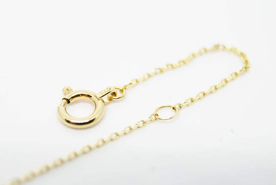 ゴールドのみ、5cmのところにアジャスター環がついています。
