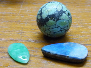 一点ものの天然石