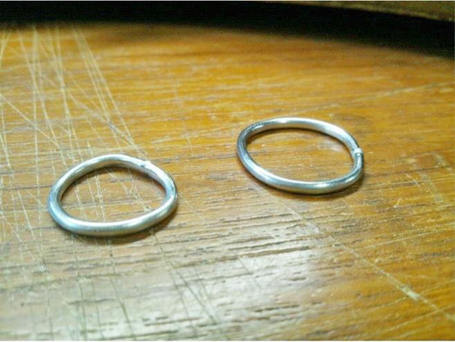 O様オーダーの結婚指輪